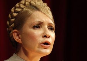 Тимошенко: Бюрократию мы просто удаляем из нашей партии