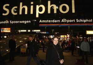 В аэропорту Амстердама у Boeing 737 загорелся двигатель