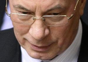 Азаров назвал результаты ПР на выборах отрадными