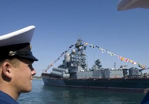 Совет Федерации России ратифицировал соглашение по Черноморскому флоту