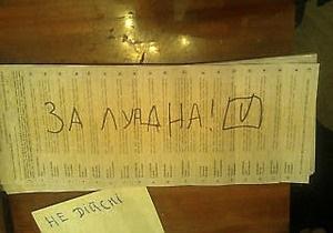 В Ивано-Франковске проголосовали за Лупана