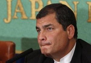 Президент Эквадора заявил, что он продолжает руководить страной