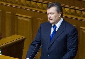 Коррупция разрушает государство: Янукович требует немедленного принятия антикоррупционных законов