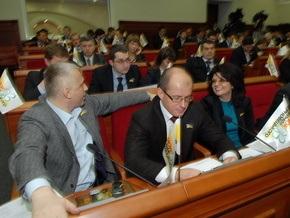 Партия регионов в Киевсовете объявила о намерении уйти в оппозицию