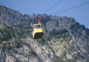 Канатную дорогу на Ай-Петри закрыли на ремонт