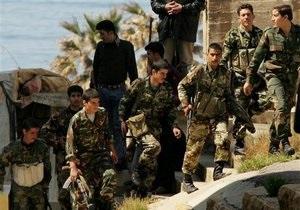 В сирийском городе Дераа, куда были введены войска, погибли около 40 человек