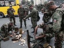 В Грузии введено военное положение