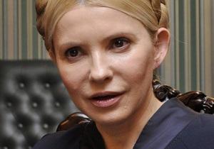 Тимошенко назвала  подарком Януковичу и Фирташу  иск в американский суд