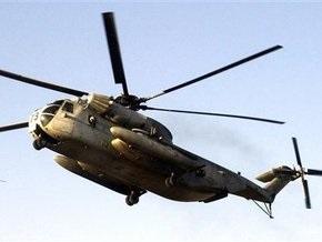 В Перу разбился армейский вертолет