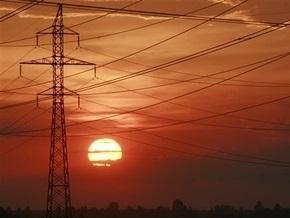 Экспорт электроэнергии из Украины сократился более чем в два раза
