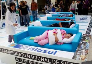 Победителем испанского чемпионата по сиесте стал представитель Эквадора