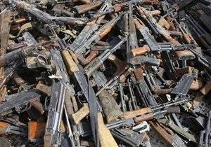 В Полтаве милиция нашла у слесаря арсенал оружия