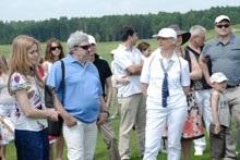 Гольф пришел в светскую жизнь Украины