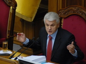 Литвин заявил о возможном совпадении позиций БЮТ и ПР в отношении неработающей Рады