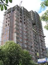 Жилой комплекс «Солнечный»: залит последний куб бетона