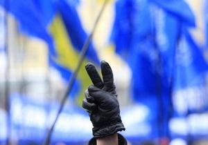 Сторонники Януковича установили дежурство возле зданий ВАСУ и КААС