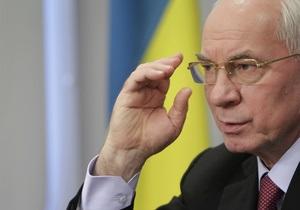 Азаров : Оппозиция в очередной раз продемонстрировала низкий уровень профессиональной дискуссии