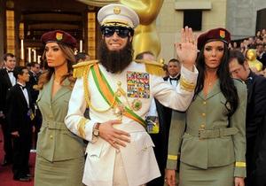 Саша Барон Коэн явился на церемонию Оскар в образе диктатора