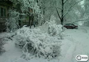 Завтра в Украине продолжатся сильные снегопады