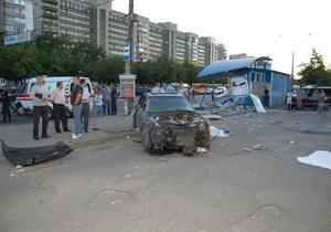 новости Сум - ДТП - Милиция задержала водителя, сбившего насмерть двух человек на остановке в Сумах