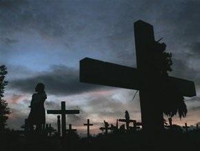 На харьковском кладбище совершено ритуальное убийство