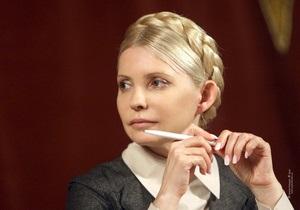 Тимошенко вызывают завтра в ГПУ