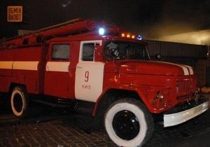 В Киеве с начала года зафиксировано 44 случая поджога автомобилей