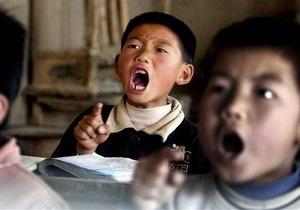 В Китае мужчина напал на начальную школу: 18 детей получили ранения
