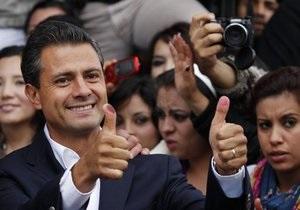 Выборы президента в Мексике: подтверждена победа Пенья Ньето