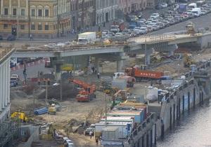 Почтовую площадь в Киеве обещают полностью сдать ко Дню Независимости