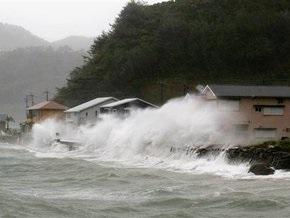 На Японию обрушился тайфун Мелор