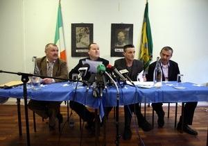Ирландская национальная освободительная армия объявила о сложении оружия