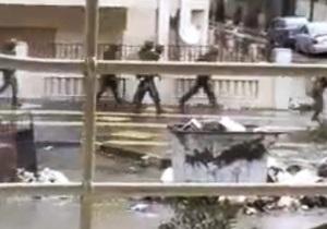 В сирийском городе Хомс полностью сгорело здание Красного креста