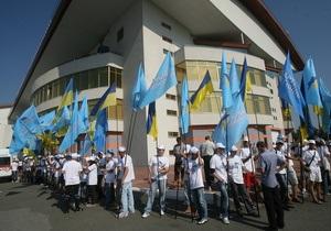 Батьківщина: В Киеве руководство Голосеевского района заставляет поддержать власть на выборах