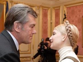 Тимошенко просит Ющенко подписать закон о выделении денег на реализацию противоэпидемических мероприятий