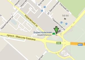 В Киеве на Харьковской площади планируют построить трехуровневую развязку