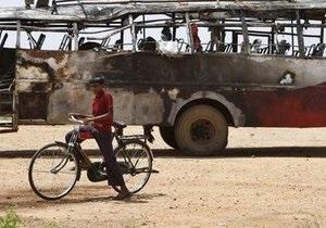 В Индии около 30 человек заживо сгорели в автобусе
