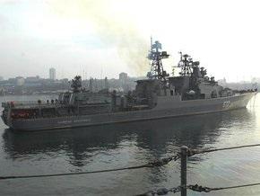 Российский корабль у берегов Сомали заменят другим судном