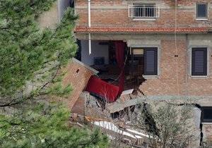 На юге Италии несколько городков оказались под угрозой уничтожения из-за оползней