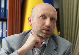 Турчинов подозревает, что регионалы  захватили комбинат Украина , чтобы скрыть фальсификации