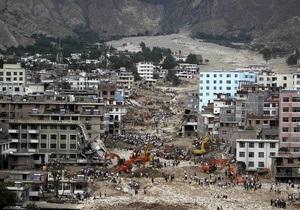 Жертвами наводнений и оползней в Китае стали 347 человек
