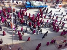В Китае жестоко разогнали демонстрацию сотен монахов