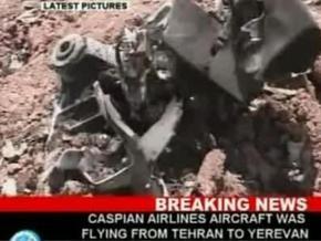 Названа предварительная причина крушения самолета Ту-154 в Иране