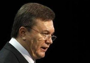 Янукович подписал закон о госпрограмме экономического и социального развития