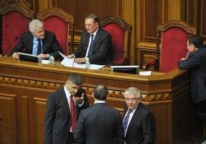 В ПР назвали главные задачи внешней политики Украины на 2013 год
