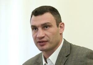 Кличко: Партия Удар ведет переговоры об объединении на парламентские выборы-2012