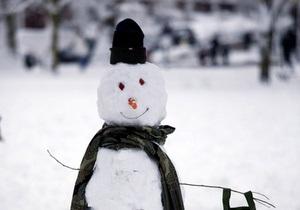 В колониях Донецкой области прошел конкурс снежных фигур