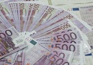 Курс евро упал до 11-месячного минимума