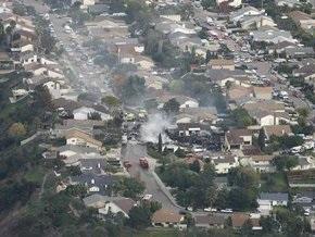 Жертвами крушения истребителя в Сан-Диего стали три человека