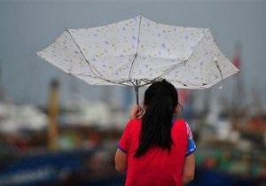 Тайфун Соулик, достигнув Китая, ослаб до уровня тропической депрессии